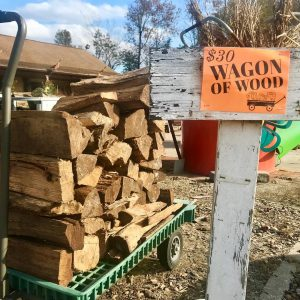 wagon of wood